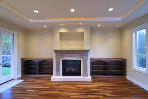 How to layout recessed lighting in 7 steps step 1 for What size tv do i need for a 12x15 room
