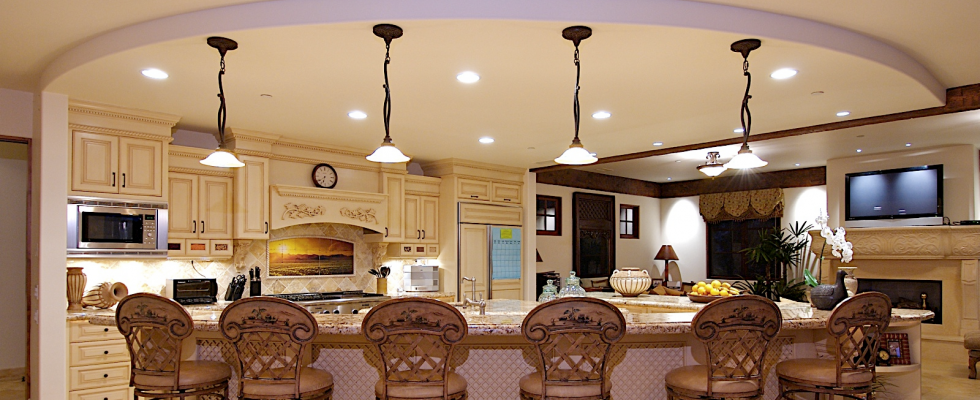 How to layout recessed lighting in 7 steps step 1 - Kitchen led lighting design guidelines ...