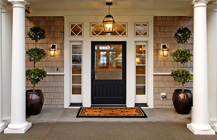 Outdoor Entrance Lights Exterior entry lights outdoor lighting you ll love front entry and 6 enchanting landscape lighting solutions step 1 dezigns blog workwithnaturefo